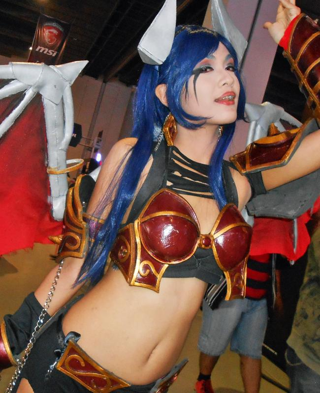queen of pain cosplay ti4 - photo #13