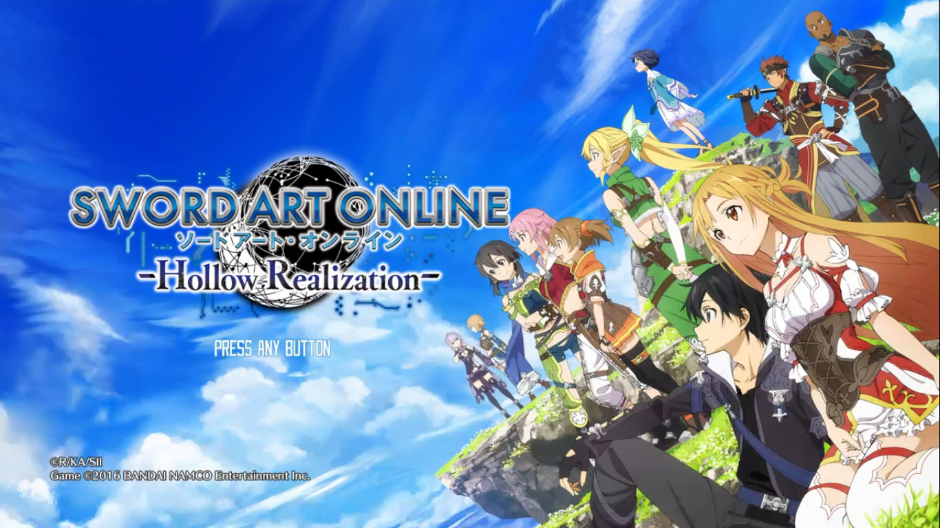 Sword Art Online : Hollow Realization Review