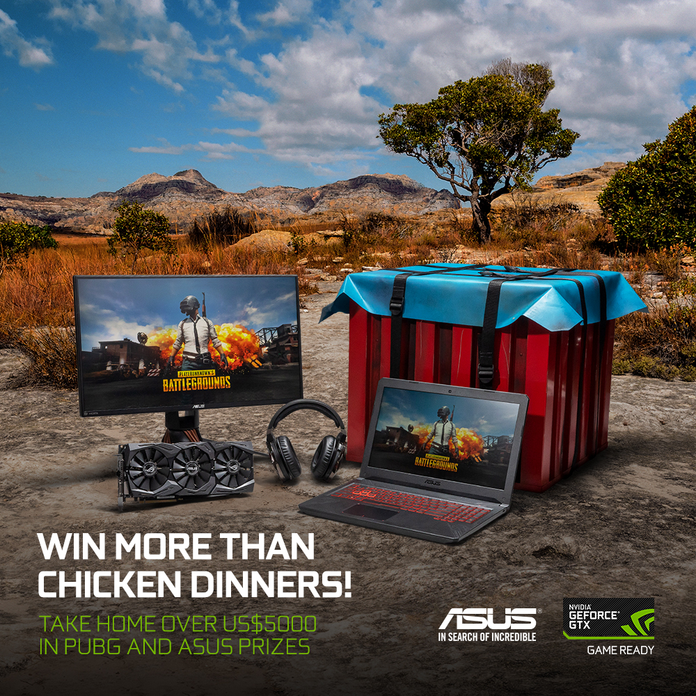 Grab an ASUS GeForce 10 Series Graphics Card and Win an Exclusive