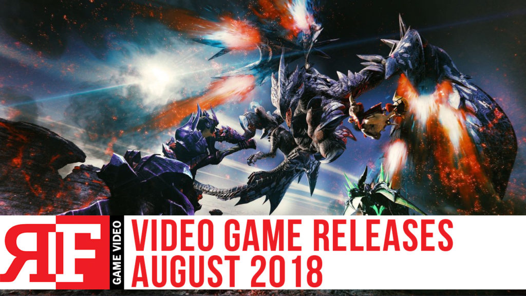 Video Game Releases August 2018