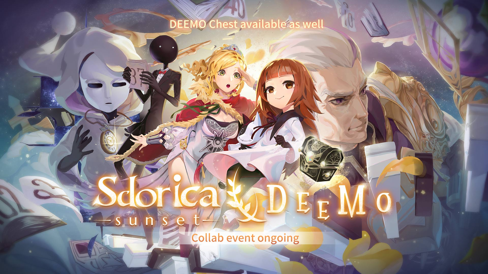 60583e9c Sdorica -sunset-'s first collaboration with DEEMO
