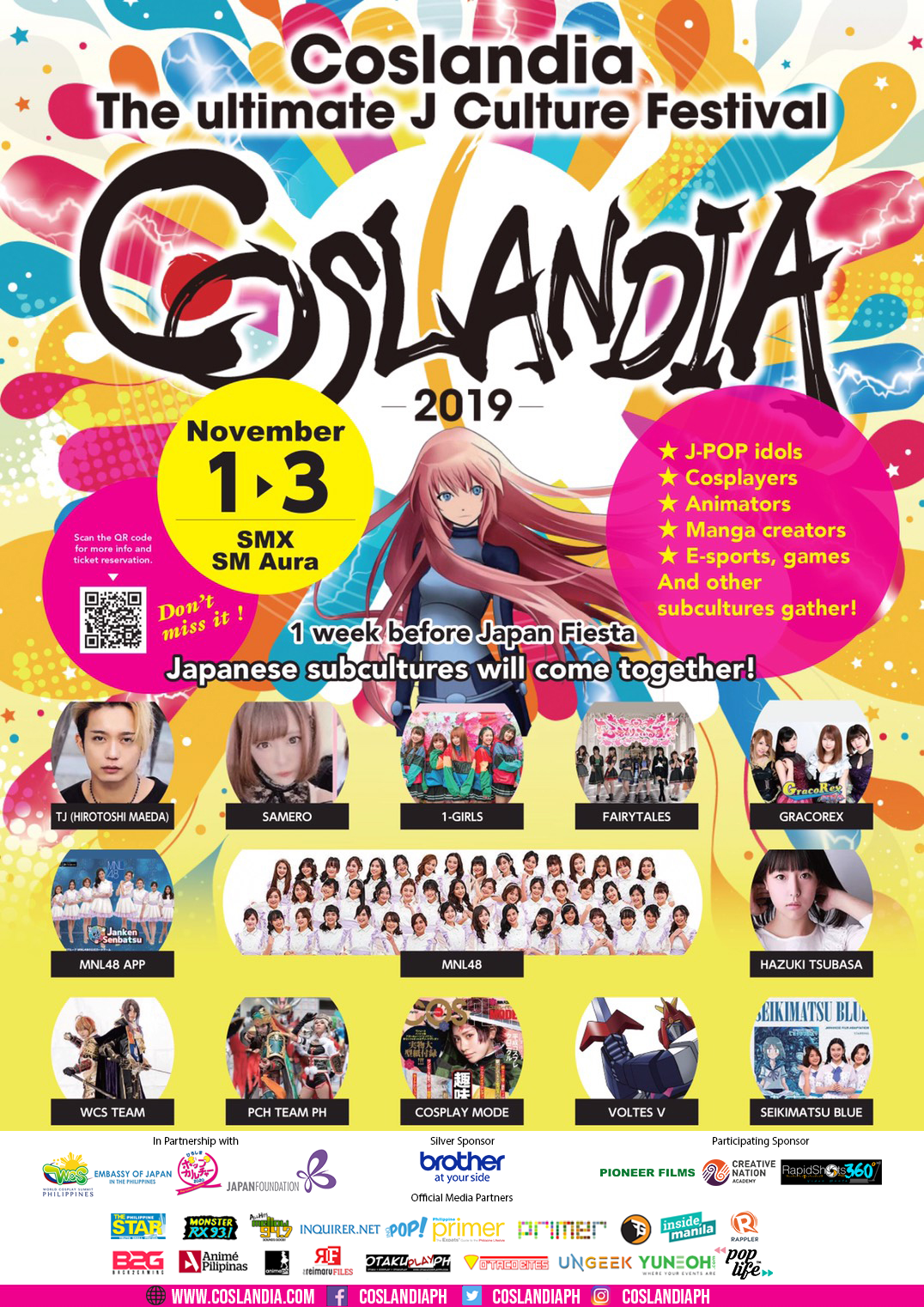 The Ultimate J-Culture Festival Coslandia 2019